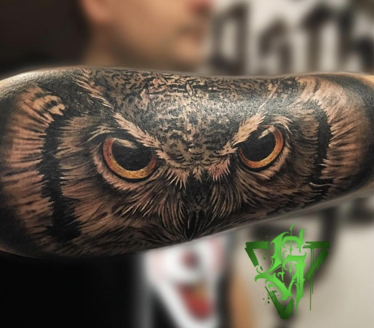 Aitor Vega Astro Vega Ghetto Youth Tattoo
